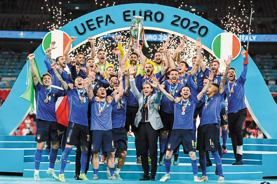 Italia venció a los ingleses en Wembley así como Argentina a Brasil en el Maracaná