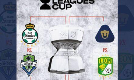 LEAGUES CUP 2021 Así quedaron las Semifinales
