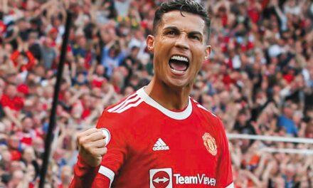 Cristiano Ronaldo, como si nunca se hubiera ido del Manchester United