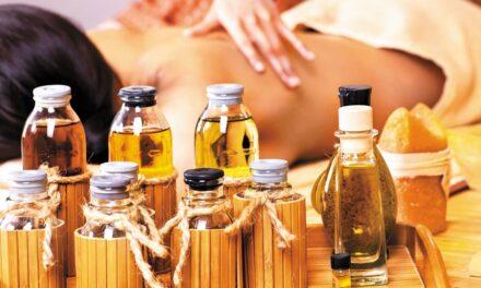 Masaje con aromaterapia y los síntomas de la menopausia